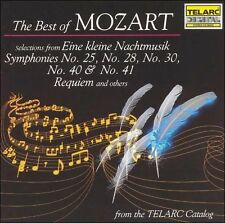 Various Artists, The Best of Mozart: Excerpts,  CD