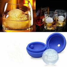 DIY Tool Silicone Wars Death Star Round Ice Cube Mold Tray Desert Sphere Mould