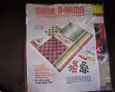 Vintage SEALED 70's GAME-O-RAMA 6 EXCITING GAMES FOR ALL AGES with free shipping