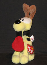 TY ODIE the YELLOW DOG BEANIE BABY (GARFIELD) - MINT with MINT TAGS