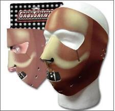 Hanibal Lecter Muzze Neoprene Full Face Mask Costume Biker ATV Ski Free Shipping