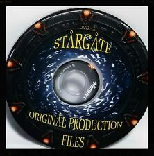 COMPLETE Stargate Atlantis SGA Universe Screen Used GRAPHIC Simulation FILES