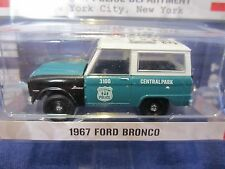 GreenLight NYPD New York City Police 1967 Ford Bronco Central Park CPP 1:64