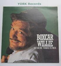 BOXCAR WILLIE - No More Trains To Ride - Excellent Con LP Record Colorado 23002
