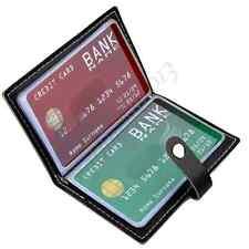 Soft Leather Business Name Card Case Wallet Bag Holder