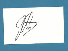 Elliott Sadler - NASCAR - Autographed 3 x 5 Index Card