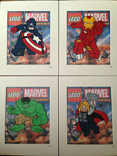 Lego - The Avengers Collection - Hand Drawn & Hand Painted Cels