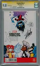AMAZING X-MEN #1 YOUNG BABY VARIANT CGC 9.8 SIGNATURE SERIES SS SIGNED STAN LEE