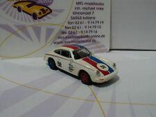 """Brekina 16313 # Porsche 911 g #59 año de construcción 1976 """"Brumos Porsche"""" blanco 1:87"""