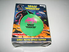 Giant Retro Space Invaders Game Green Hopper Bounce On Ball New 2013 50fifty