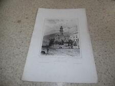 1850.Temple protestant à Cap-Town.Cap de Bonne Espérance.Hastrel