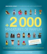 Livre +2000 miniatures de parfum par Jean-Michel COURSET