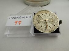 77 - Movimento landeron 48  dial Astin working sold for parts or repair