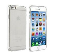 Silicon Schutzhülle Apple iPhone 6 Transparent Cover Case Clear Sehr Dünn Klar