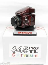 Mamiya 645 PRO TL SPECIAL ULTRA-RARE EDITION ((( COLOR SET ))) WINE RED !!!