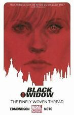 BLACK WIDOW TP VOL 01 FINELY WOVEN THREAD NEW PAPERBACK COMIC