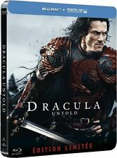 Dracula Untold Blu-Ray Steelbook Limited Edition, Region Free! NEW!