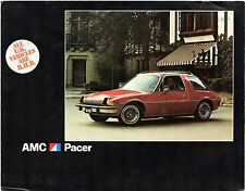 American Motors AMC Pacer 1976 UK Market Foldout Sales Brochure