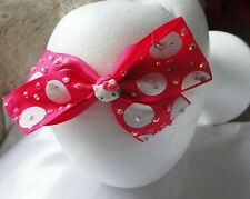handmake hello kitty head bands RHINESTONES