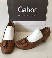 Gabor Leather Smart Shoes Size UK 3.5 EU 36.5
