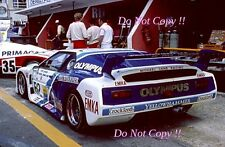 O'Rourke & Down & Mason EMKA Productions BMW M1 Le Mans 1982 Photograph
