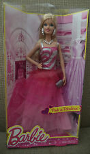 2013 BARBIE PINK & FABULOUS GOWN LIFE IN THE DREAMHOUSE *new*