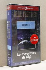 LE AVVENTURE DI GIGI - Blue frontier vol.12 [vhs, cecchi gori home video]