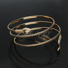 Latest Coiled Snake Spiral Upper Arm Cuff Armlet Armband Wrist Bangle Bracelet