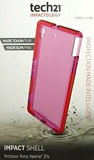New Tech21 Impactology Case for Sony Xperia Z1S Impact Shell Pink + Free screen