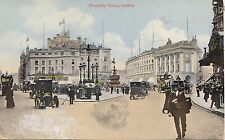 BF19355 piccadily circus london car  united kingdom front/back image
