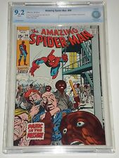 Amazing Spider-Man 99 CBCS Graded 9.2 NM- WP (Similar to CGC) Stan Lee Story