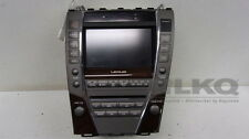 10 11 Lexus ES350 CD Player Radio Receiver w/ Navigation Screen Display OEM