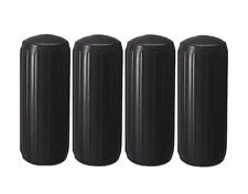 "New Four Pack 8"" x 20"" Center Hole Fenders/Bumpers (Black)"
