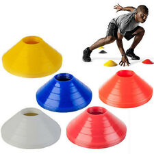 10 X Football Rugby Sport Cross Training Space Marker Soccer Cone SaucerMC