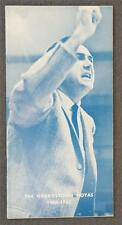 SHARP: 1964-65 Georgetown University Basketball Press/Media Guide          (001)
