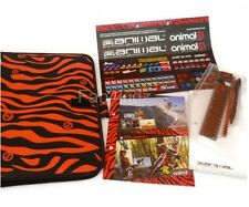 NEW Animal A4 ring clip binder file stationary set school pen paper pencil