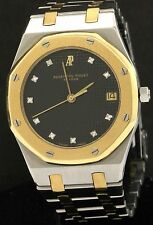 Audemars Piguet Royal Oak SS/18K gold VS1/F diamond 35mm quartz men's watch