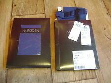 Marc Cain 100 denier tights.RRP £35.Bright,bold colours.New+tags.Size 12.Blue