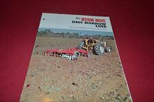 Brush Hog Rear Mounted Blades Dealers Brochure YABE10