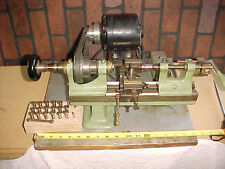 Antique, Sloan,Chace & Co. Newark N.J. 1880s Miniature Watchmakers  Lathe