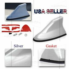 FOR ACUR HOND A! AERO STYLE SHARK FIN SILVER PAINTED ANTENNA REPLACEMENT DIY USA