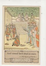 Randolph Caldecott The Queen Of Hearts Vintage Art Postcard 181b