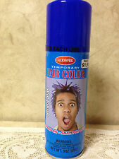 GOODMARK Temporary Spray On/Wash Out Hair Color, Royal Blue~3 Oz. NEW, Free Ship