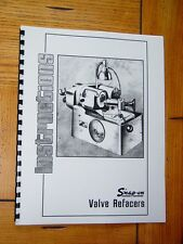 Snap On / KO Lee VR200 & VR300 Valve Grinder Manual