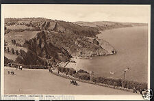 Devon Postcard - Oddicombe From Babbacombe Downs, Nr Torquay  RS41