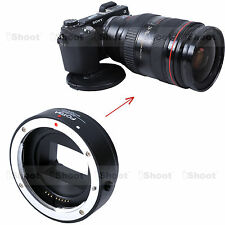 Electronic Adapter Ring Auto-focus fr Canon EF EF-S Lens Sony Camera a6000 a6300