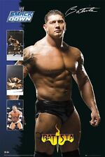 "WWE BATISTA POSTER ""LICENSED"" BRAND NEW"