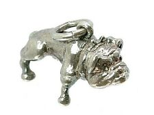 VINTAGE ARGENTO Heavyweight grandi British BULL DOG Charm