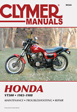 CLYMER REPAIR MANUAL Fits: Honda VT500C Shadow,VT500FT Ascot