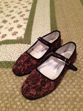 Chinese Slipper Shoes Size 37 Brown/Black